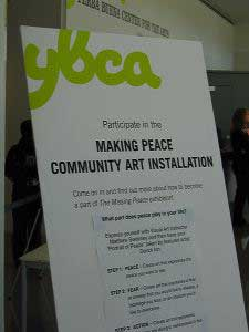 Co-Creating Art (Making Peace) for The Missing Peace