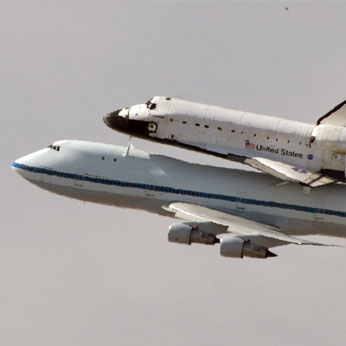 Space Shuttle Endeavour's Last Flyover